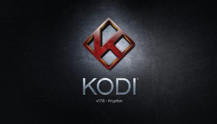 Kodi versão 17 - krypton