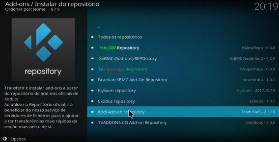 Kody addon repository