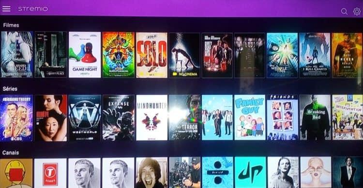 Stremio é uma app para assistir a filmes, séries e outros programas de TV mundiais