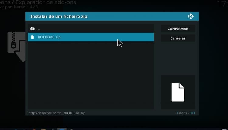 Instalar Exodus addon no Kodi - passo6