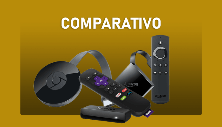 Fire TV Stick vs Roku vs Chromecast - Qual equipamento comprar?