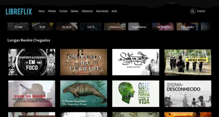 Libreflix é uma plataforma brasileira de streaming alternativa à Netflix