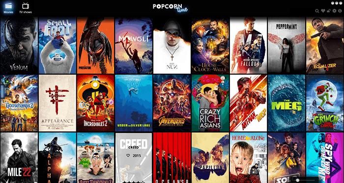 Popcorn Time é uma popular app