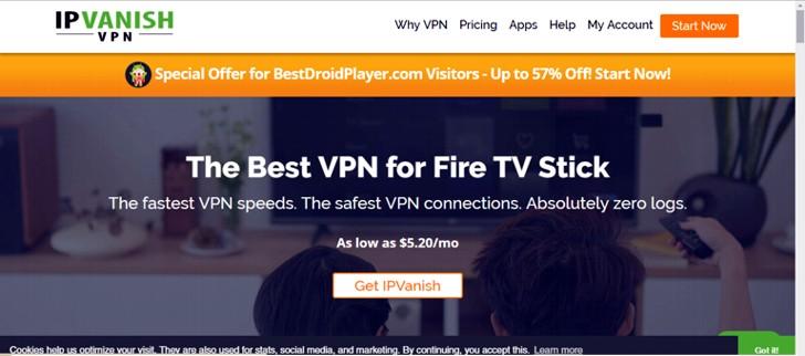 Subscrever o IPVanish