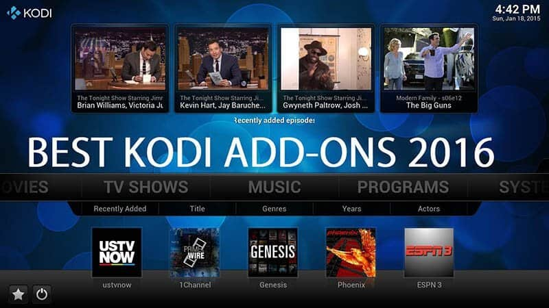 5 Best Kodi Xbmc Addons 2016 For Android Tv Box