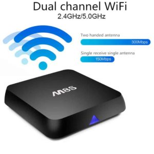 kodi box dual channel wifi