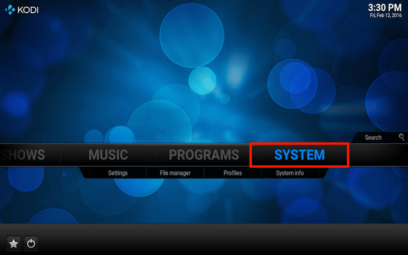 kodi system