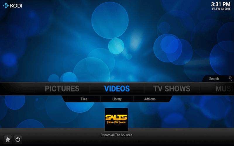Addon icon shortcut kodi video addons