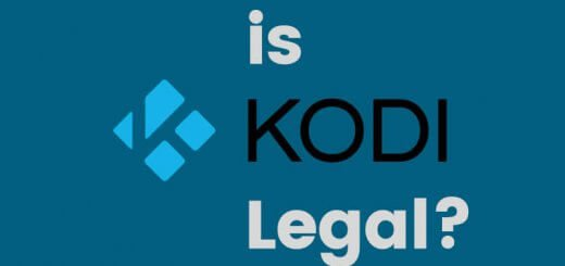 is kodi legal