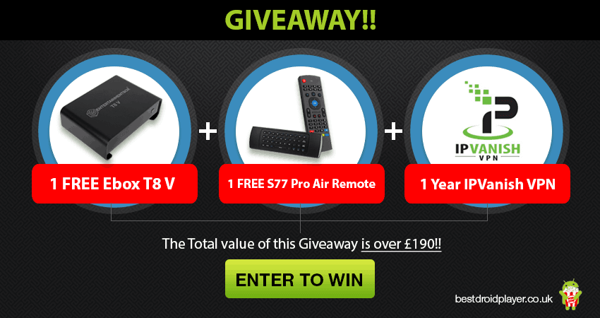 The best streaming Giveaway Ever! High Tech Kodi Box +