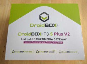 Android TV Box T8-S Plus V2 box