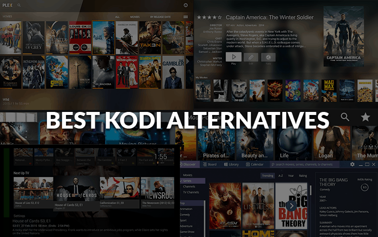 6 Best Kodi Alternatives for Free Streaming - The best of 2019