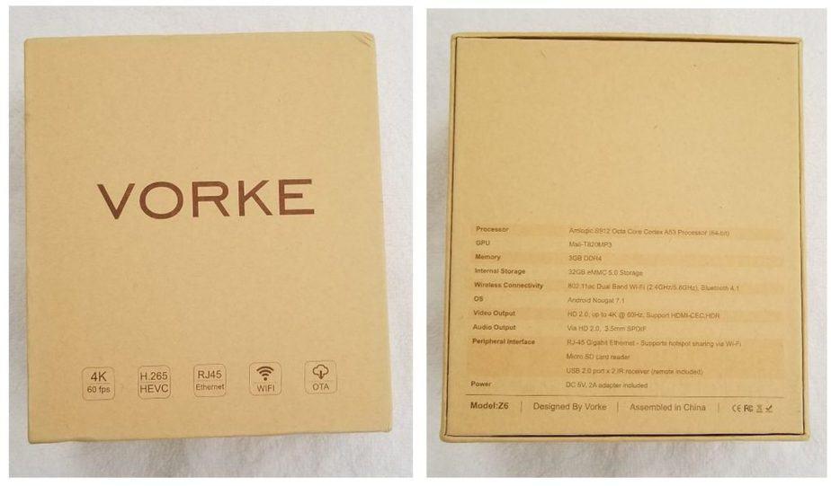 vorke Z6 box