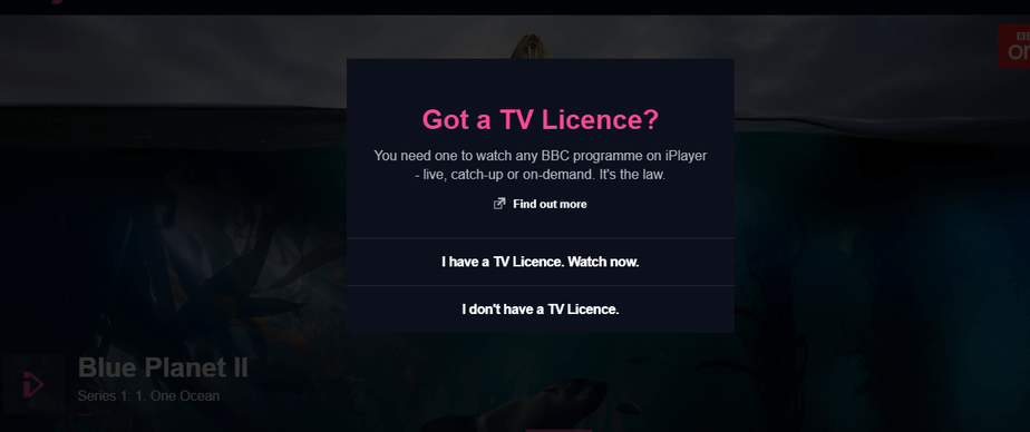 BBC iPlayer TV License Abroad
