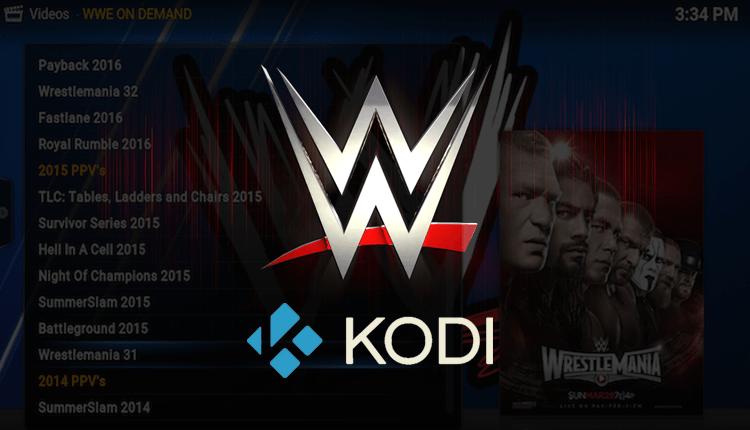 Best WWE Kodi Addons