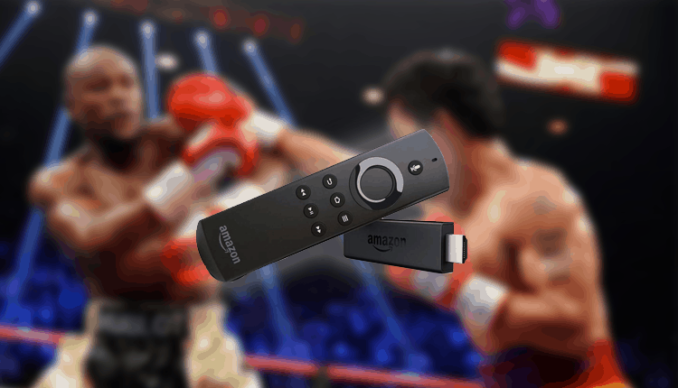 Live Boxing on Fire TV Stick