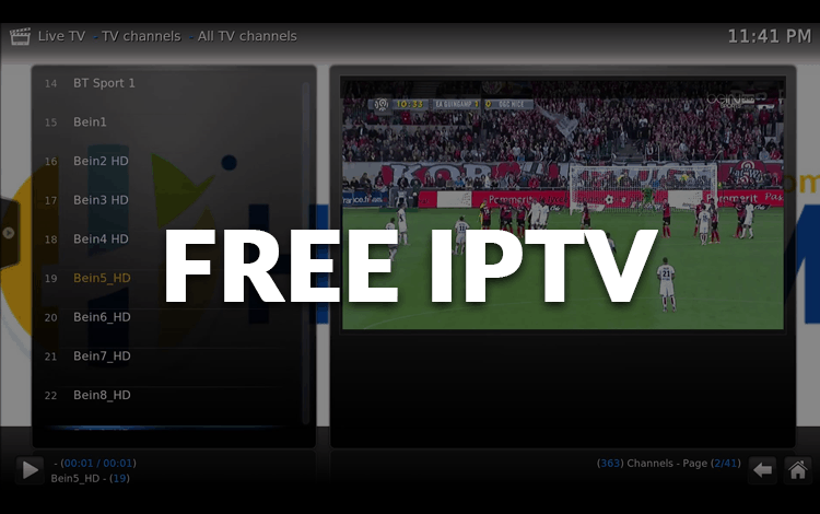 Best free IPTV lists and services for Kodi, Android Boxes or Fire TV