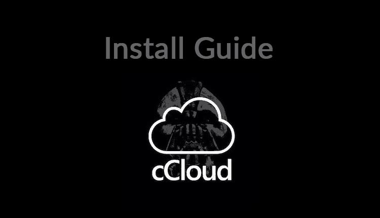 Install cCloud Kodi Addon
