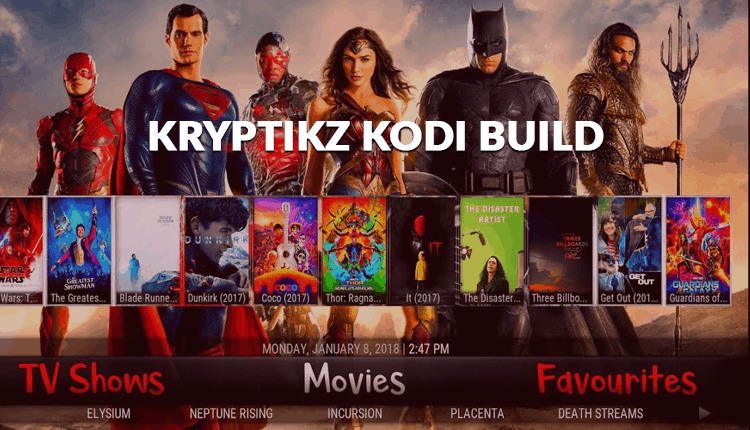 kryptikz Kodi Build