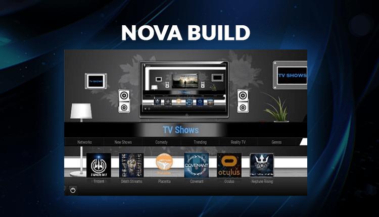 Install Nova Build Kodi