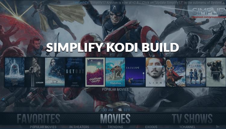 Simplify Kodi Build