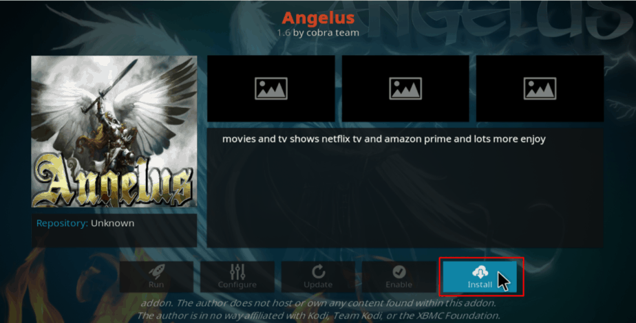 install Angelus addon