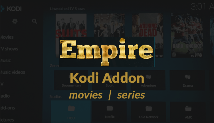 empire kodi addon