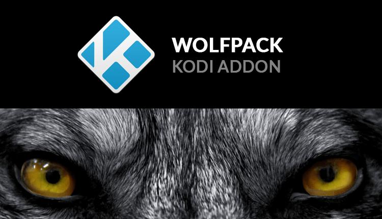 install wolfpack kodi addon