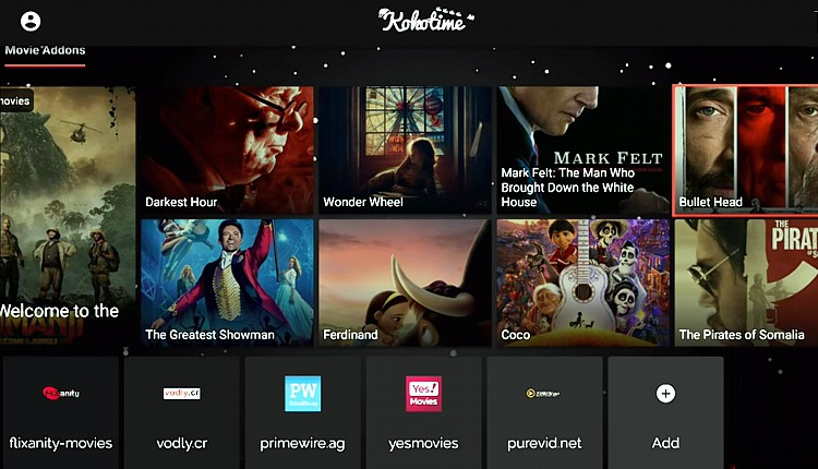 Kokotime is an app for streaming movies and tv shows. Here's a kokotime screenshot