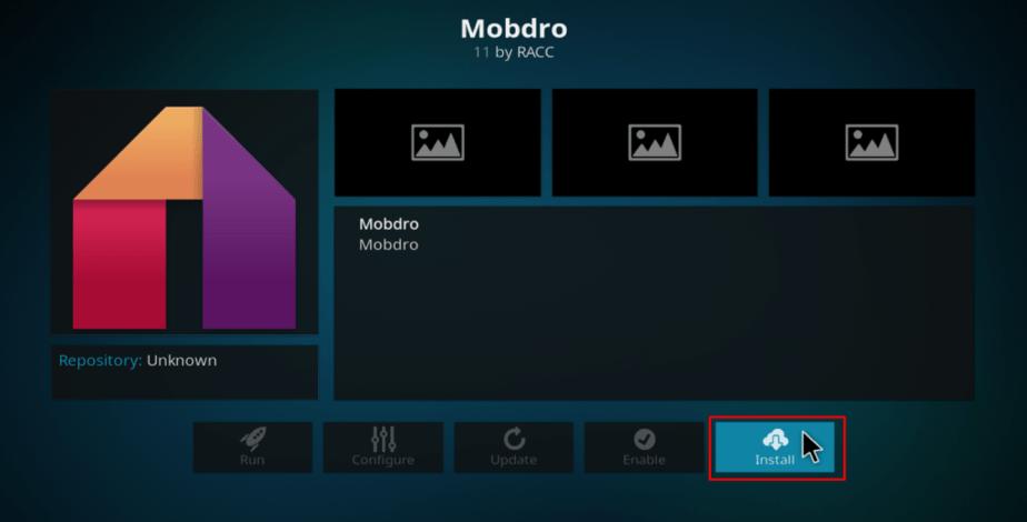 Install Mobdro