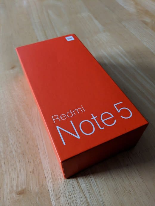 Xiaomi Redmi Note 5 Unboxing