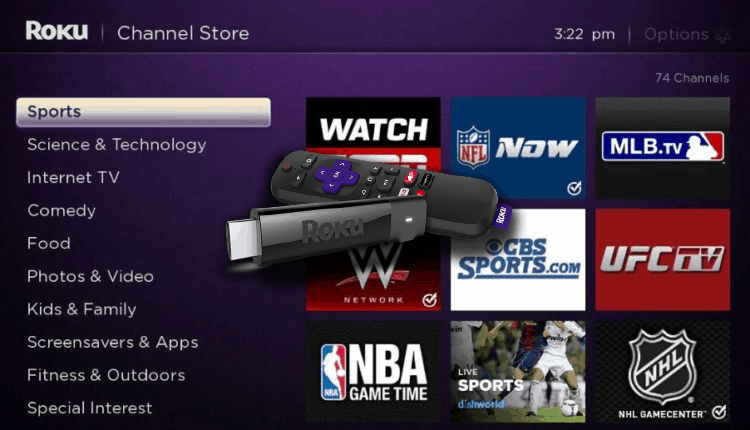 Here's How You Can Watch LIVE Sports on Roku for FREE!