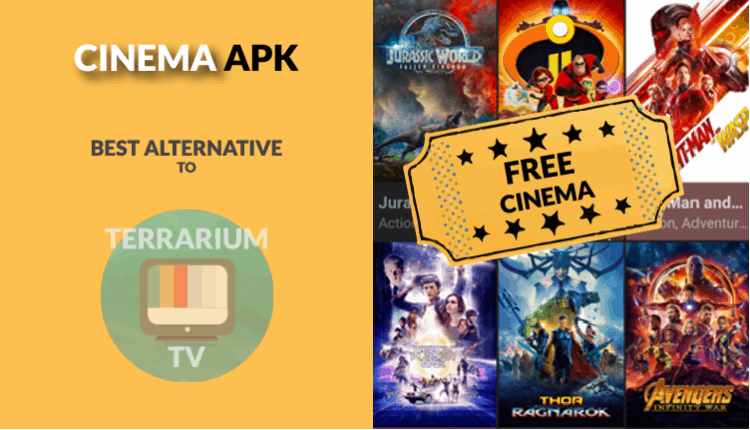 Cinema APK may be your best streaming option to replace