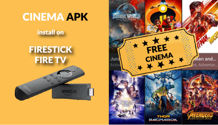 How to Install Cinema APK on Firestick and Fire TV an alternative for Terrarium TV