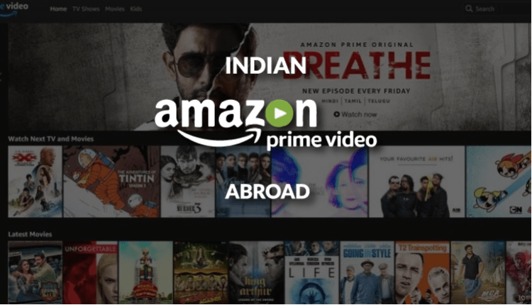 Hollywood movies on amazon prime india