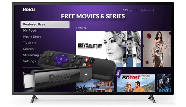 Guide to Watch Free Movies and Series on Roku streaming player