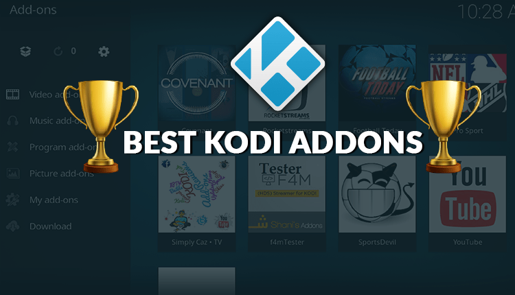 Top 23 Best Working Kodi Addons. Addons List by category