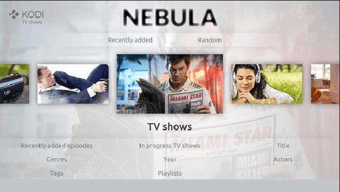 Nebula Kodi Build