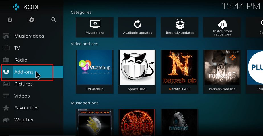 Installing Reasons Repository on Kodi