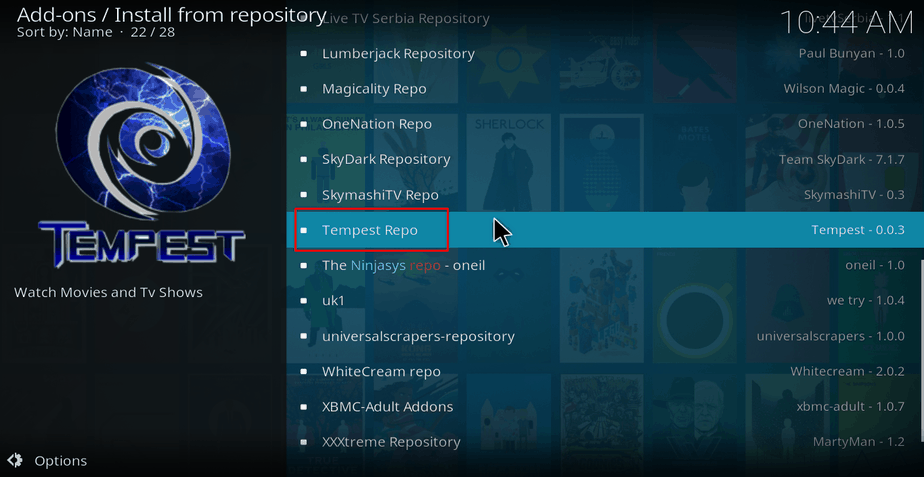 How to Install Tempest Kodi Addon - huge selection of