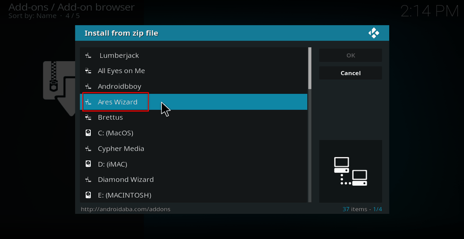 How to fix Kodi errors like: Check the log for more information