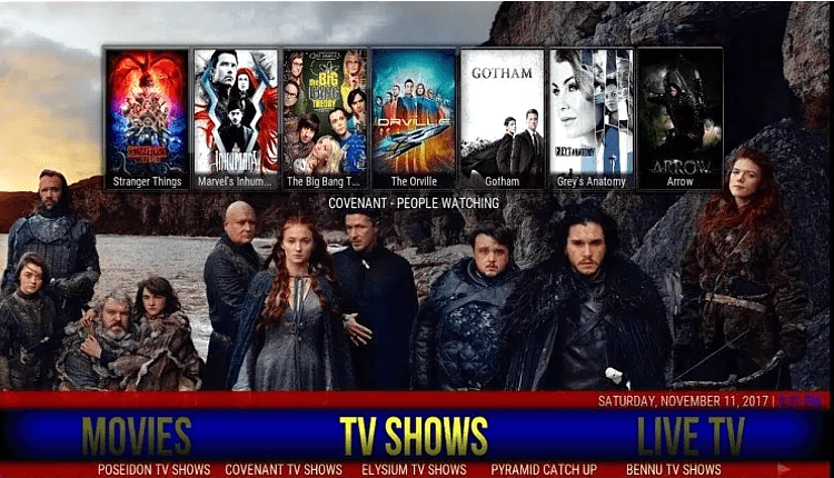 Best builds for Kodi 18 Leia - Live Sports Live Tv Movies Tv