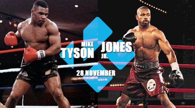 watch mike tyson vs jone jr on kodi